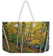 Autumn Below Weekender Tote Bag