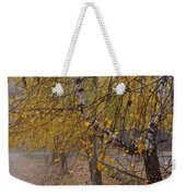 Autumn Bench Weekender Tote Bag