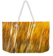 Autumn Birches Weekender Tote Bag
