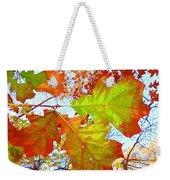 Autumn Bliss Weekender Tote Bag