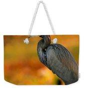 Autumn Blue Heron Weekender Tote Bag
