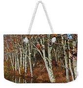 Autumn Blue Weekender Tote Bag