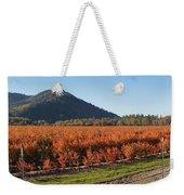 Autumn Blueberry Panorama Weekender Tote Bag