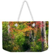 Autumn Boardwalk Weekender Tote Bag by Bill Wakeley