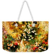 Autumn Bounty - Abstract Expressionism Weekender Tote Bag