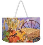 Autumn Bounty Weekender Tote Bag