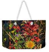 Autumn Bouquet Weekender Tote Bag