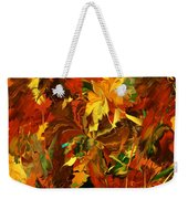 Autumn Burst Weekender Tote Bag