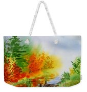Autumn Burst Of Fall Impressionism Weekender Tote Bag