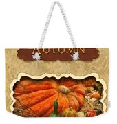Autumn Button Weekender Tote Bag by Mike Savad