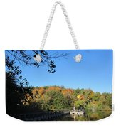 Autumn By The Lake 1 Weekender Tote Bag