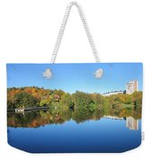 Autumn By The Lake 3 Weekender Tote Bag
