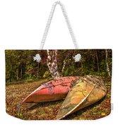 Autumn Canoes Weekender Tote Bag