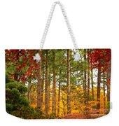 Autumn Canvas Weekender Tote Bag