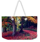 Autumn Carpet In The Enchanted Wood Weekender Tote Bag