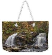 Autumn Cascades Weekender Tote Bag