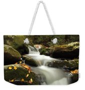 Autumn Cascades In Tennessee Weekender Tote Bag