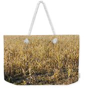Autumn Cattle Silage Corn In Maine Weekender Tote Bag by Keith Webber Jr
