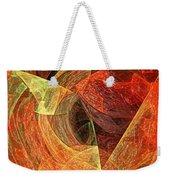 Autumn Chaos Weekender Tote Bag