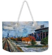 Autumn Chicago White Sox Us Cellular Field Mixed Media 03 Weekender Tote Bag