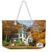 Autumn Church Weekender Tote Bag