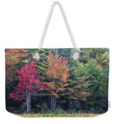 Autumn Color Painterly Effect Weekender Tote Bag