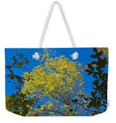 Autumn Colors Against The Sky Weekender Tote Bag