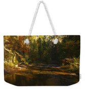 Autumn Colors By The Creek  Weekender Tote Bag