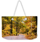 Autumn Colors - Colorful Fall Leaves Wisconsin - II Weekender Tote Bag