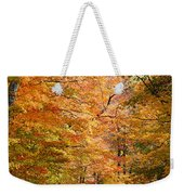Autumn Colors - Colorful Fall Leaves Wisconsin IIi Weekender Tote Bag