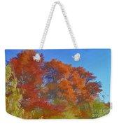 Autumn Colors I Digital Paint Weekender Tote Bag
