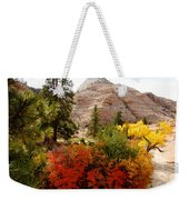 Autumn Colors In Zion's Highlands-ut Weekender Tote Bag