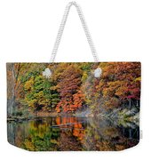 Autumn Colors Reflect Weekender Tote Bag