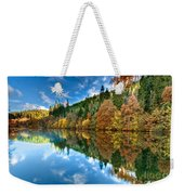 Autumn Colour Staindale Lake Weekender Tote Bag