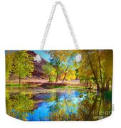 Autumn Colours In Moab Weekender Tote Bag