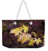 Autumn Contrast Weekender Tote Bag