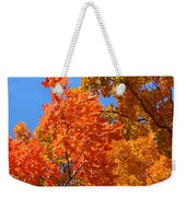Autumn Contrasts Weekender Tote Bag