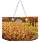Autumn Corn Weekender Tote Bag