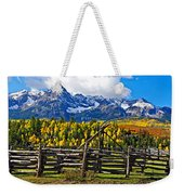 Autumn Corral Weekender Tote Bag