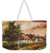Autumn Cottages Weekender Tote Bag