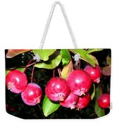Autumn Crab Apples Weekender Tote Bag