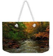 Autumn Creek Weekender Tote Bag