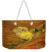 Autumn Crest Weekender Tote Bag