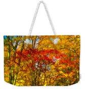 Autumn Cul-de-sac - Paint Weekender Tote Bag