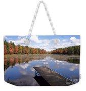 Autumn Dock Weekender Tote Bag
