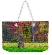 Autumn Doe - Paint Weekender Tote Bag