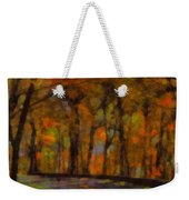 Autumn Drive Freedom And Beauty Weekender Tote Bag