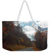 Autumn Drive2581 Weekender Tote Bag