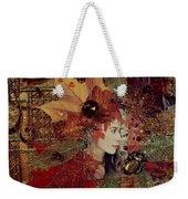 Autumn Dryad Collage Weekender Tote Bag