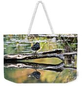 Autumn Duck Reflections Weekender Tote Bag